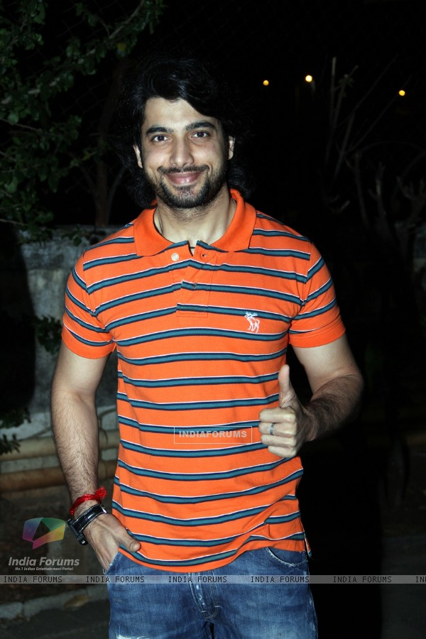 Sharad Malhotra was at the Premiere of the play 'Sakaram Binder'