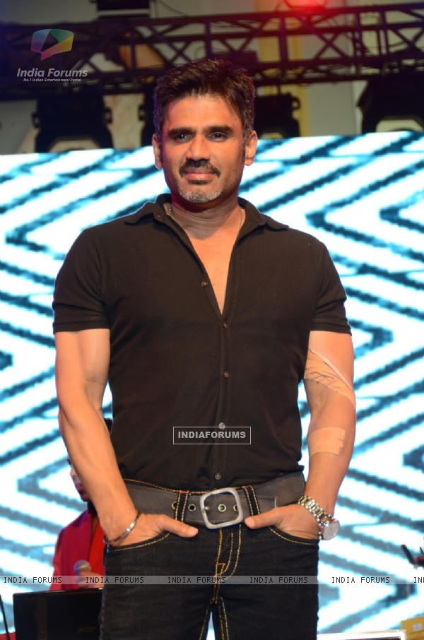 Suniel Shetty was at the 8th edition of Baqar Nasser's Spinnathon