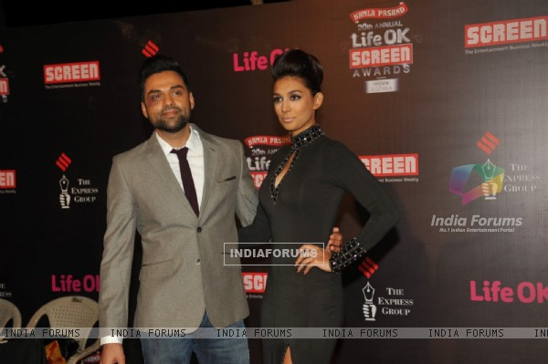 Abhay Deol and Preeti Desai were at the 20th Annual Life OK Screen Awards