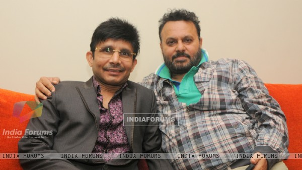 Anil Sharma at Kamaal. R. Khan's Birthday Bash