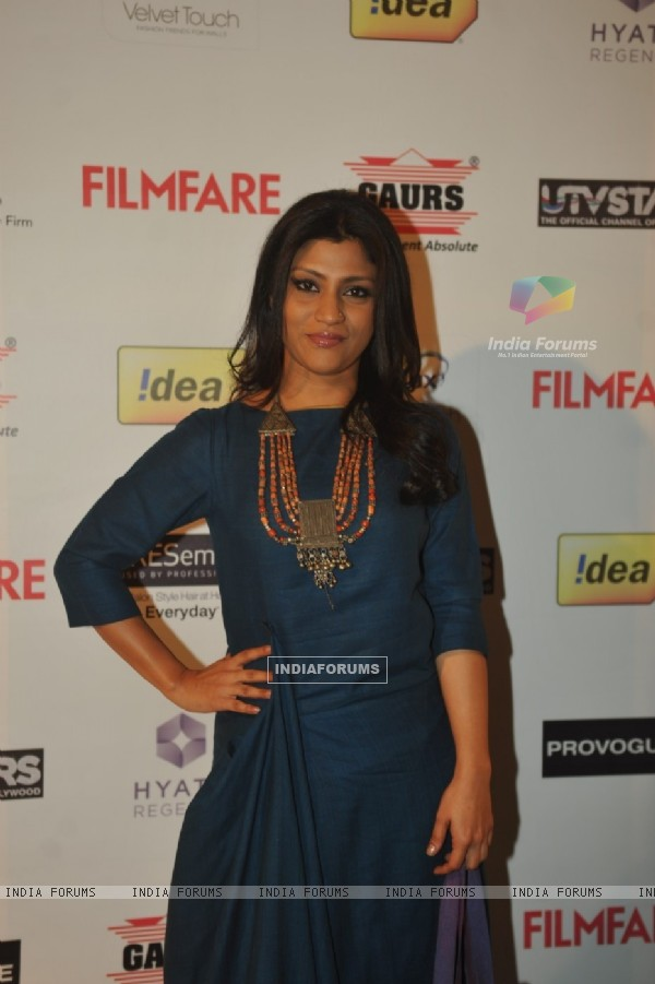 Konkona Sen Sharma at the 59th Idea Filmfare Pre Awards Party