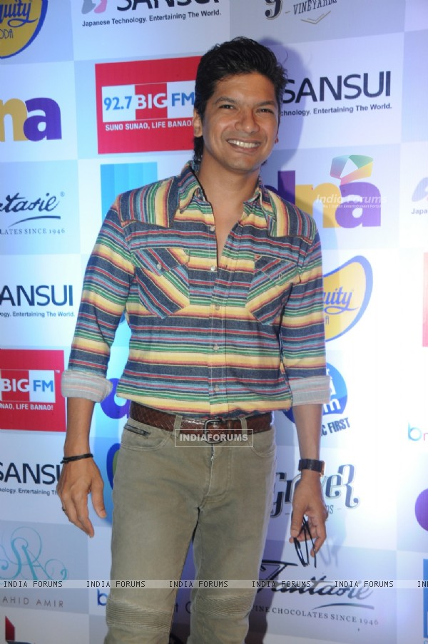 Shaan was at the Music Mania Event