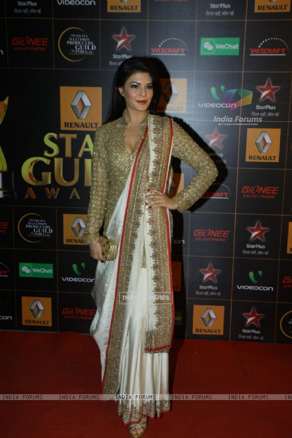 Jacqueline Fernandes was seen at the 9th Star Guild Awards