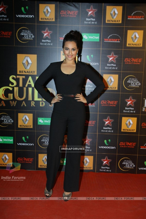 Sonakshi Sinha at the 9th Star Guild Awards