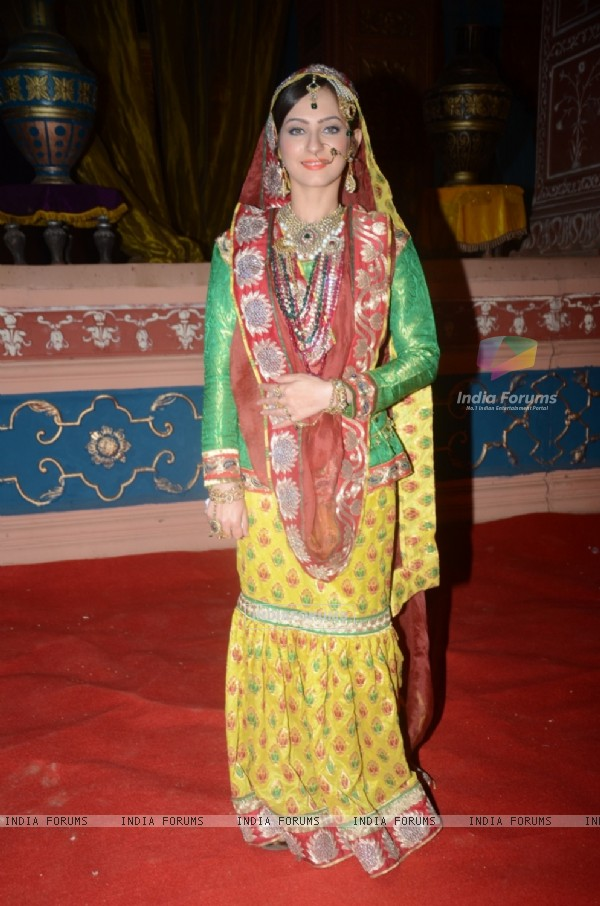 Lavina Tandon at the Launch of Jodha Akbar e-book and mobile game launch