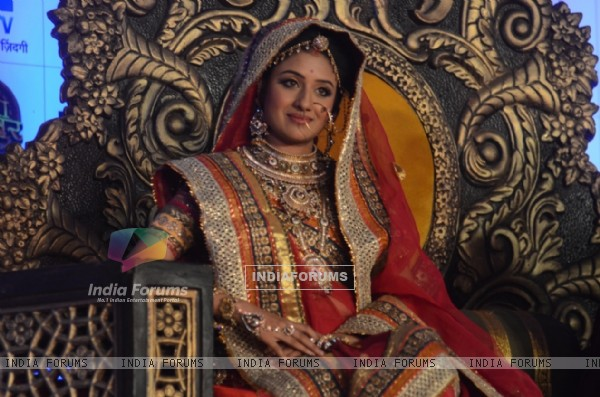 Paridhi Sharma was at the Launch of Jodha Akbar e-book and mobile game launch