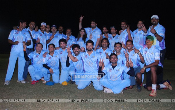 Celebrity Cricket League friendly match
