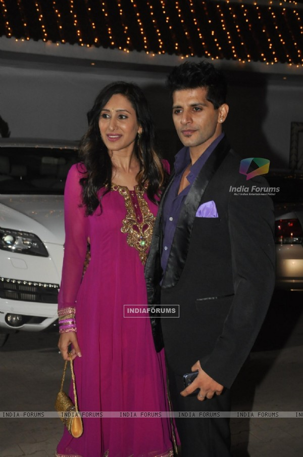 Teejay Sidhu and Karanvir Bohra was at Raghav Sachar & Amita Pathak Wedding
