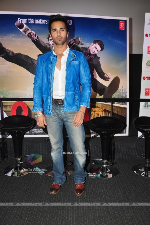Pulkit Samrat was at First Look of 'O Teri'
