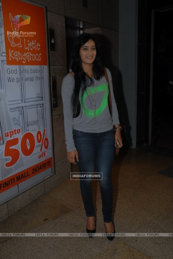 Shweta Tiwari was at the Special Screening of Jai Ho