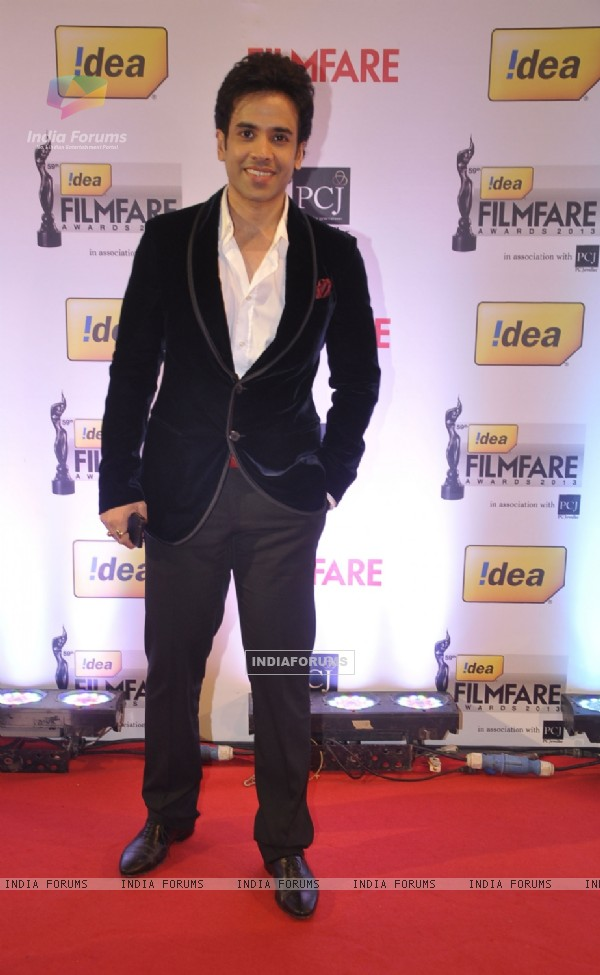 Tusshar Kapoor at the 59th Idea Filmfare Awards 2013