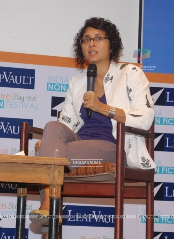 Kiran Rao at the India Non-Fiction Festival