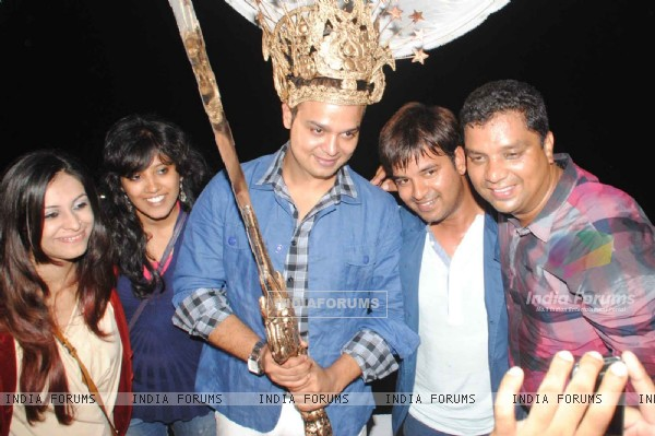 Siddharth Kumar Tewary's birthday bash