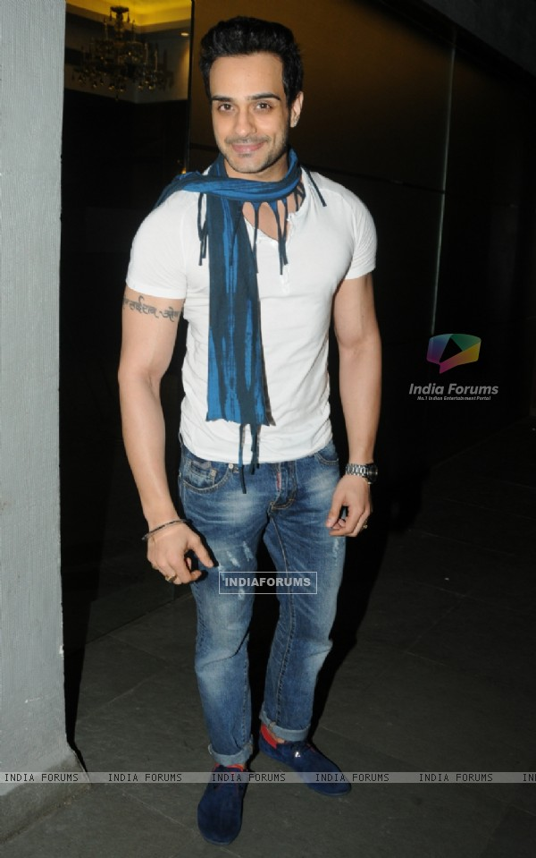 Angad Hasija was seen at the Success Party