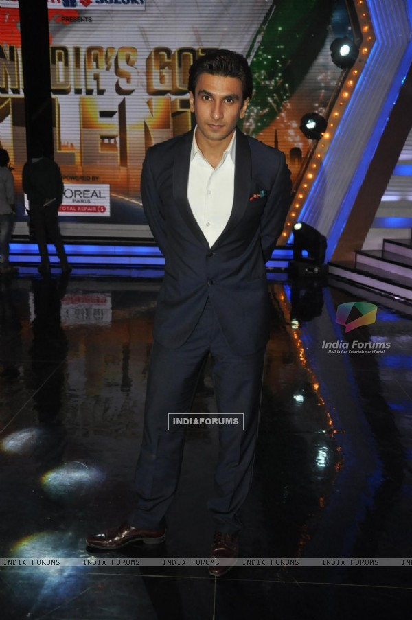 Ranveer Singh on India's Got Talent Season 5