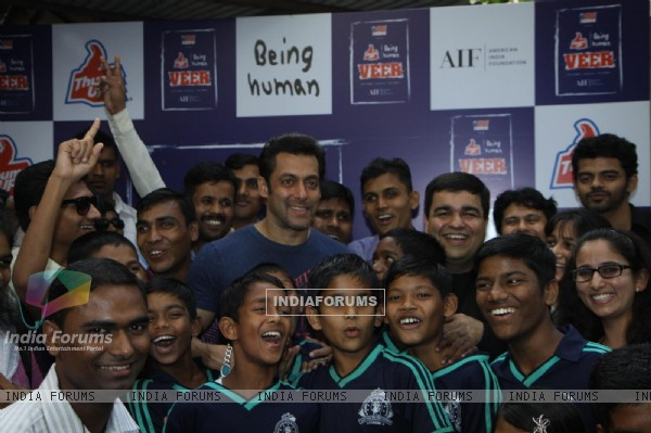 Salman Khan launches Thumps Up & Being Human Foundation's Veer Campaign