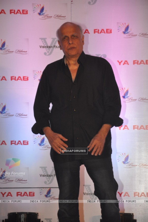 Mahesh Bhatt was seen at the Press Meet of Ye Rab