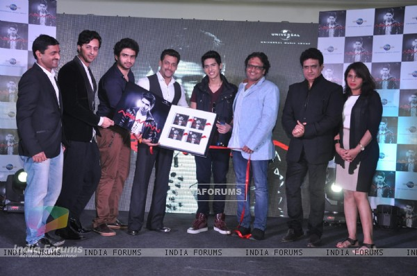 Salman Khan at the Music Launch of Armaan Malik's New Album
