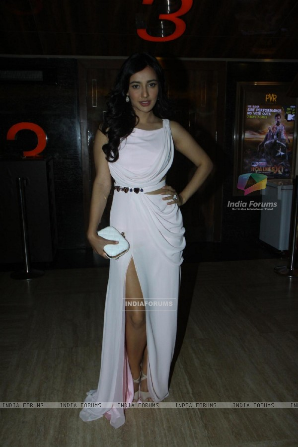 Neha Sharma was seen at the Launch of Youngistan's First Look