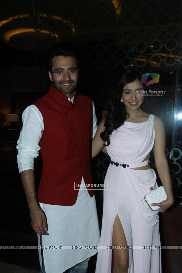 Jackky Bhagnani and Neha Sharma were at the Launch of Youngistan's First Look