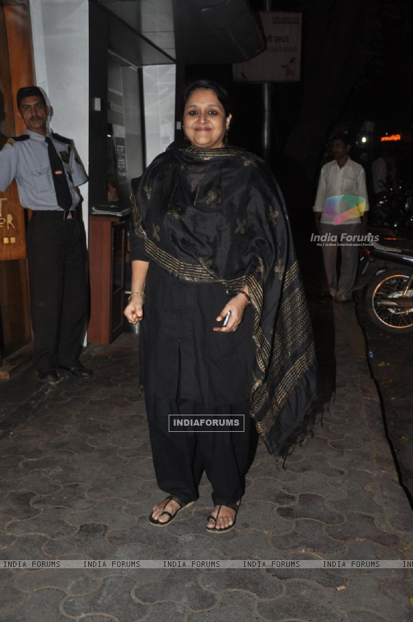Supriya Pathak was at Bobby Jasoos Wrap Party