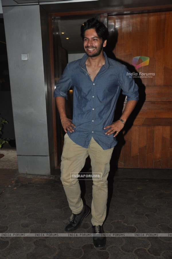 Ali Fazal was at Bobby Jasoos Wrap Party