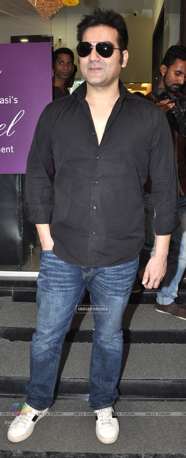 Arbaaz Khan at the launch of the clinic 'La Piel'