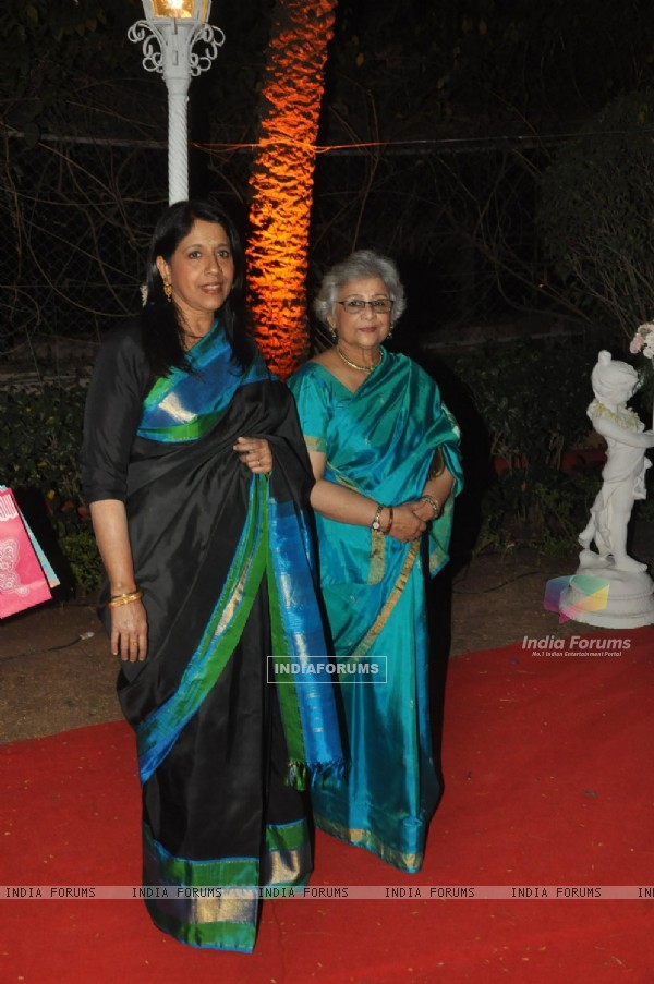 Kavita Krishnamurthy was seen at Ahana Deol & Vaibhav Vora's Reception Party