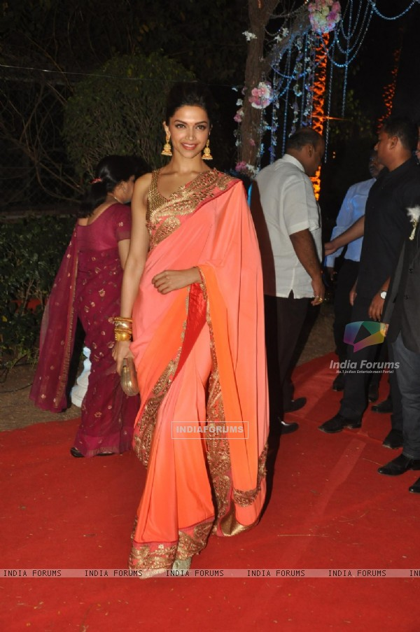 Deepika Padukone was at Ahana Deol & Vaibhav Vora's Reception Party