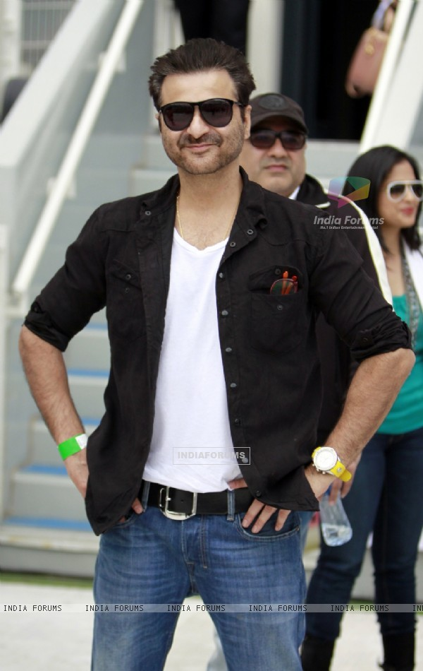Sanjay Kapoor was at the CCL Dubai match