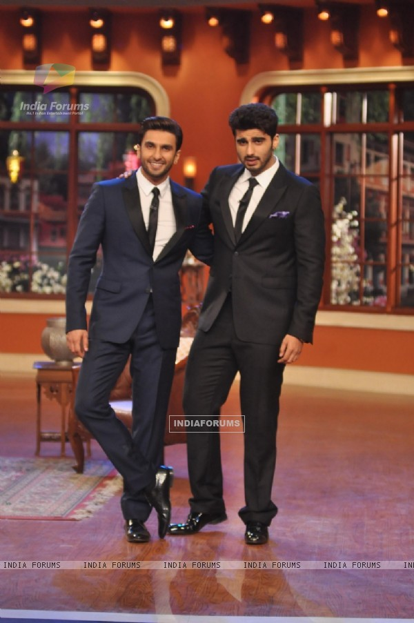 Arjun Kapoor and Ranveer Singh Promote 'Gunday' on Comedy Nights with Kapil