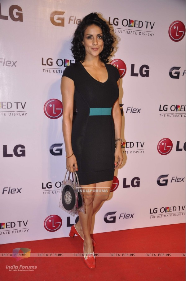 Gul Panag was at the LG OLED TV Promotional Event