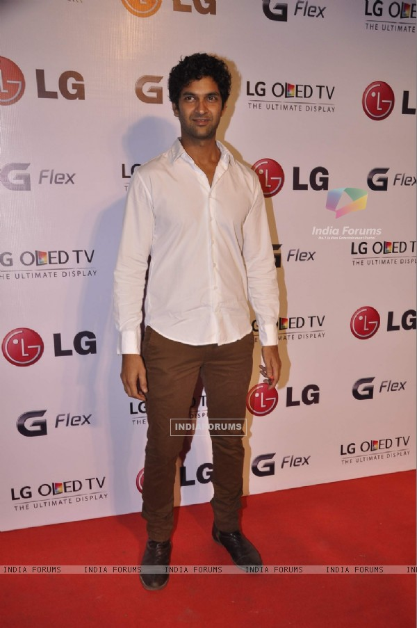 Purab Kohli was seen at the LG OLED TV Promotional Event