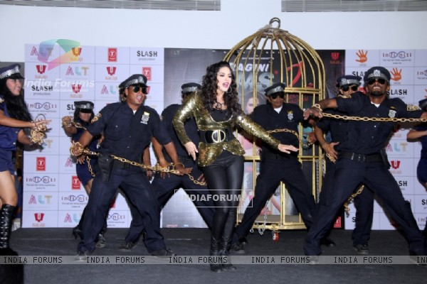 Sunny Leone at the launch event of BABY DOLL