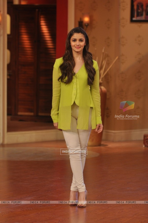 Alia Bhatt on Comedy Nights With Kapil