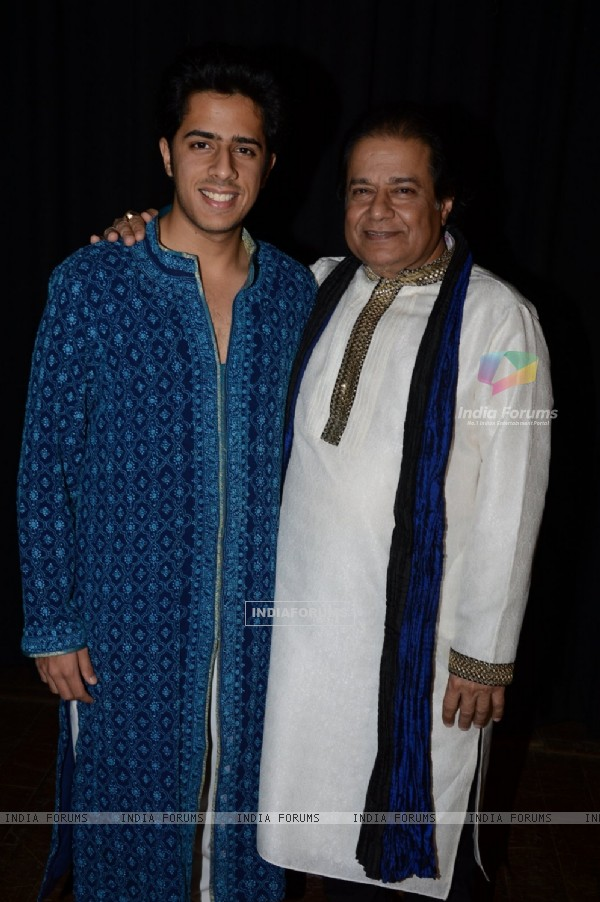 Anup Jalota at the Glory Awards 2014