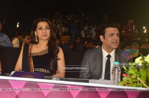 Juhi Chawla and Govinda At the Indian Princess Event