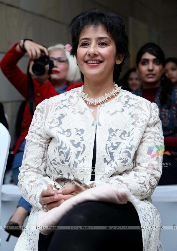 Manisha Koirala at a cancer awareness program