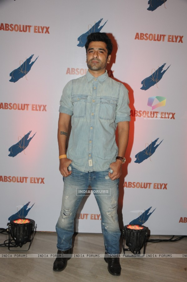 Eijaz Khan was at the Absolut Elyx Party