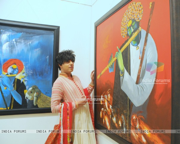 Rohhit Verma at That life in Colors - Art Exhibition