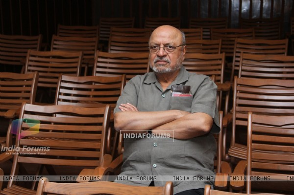 Shyam Benegal on his TV show's shoot