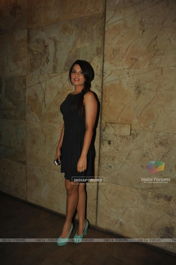 Richa Chadda were at the Special screening of Queen