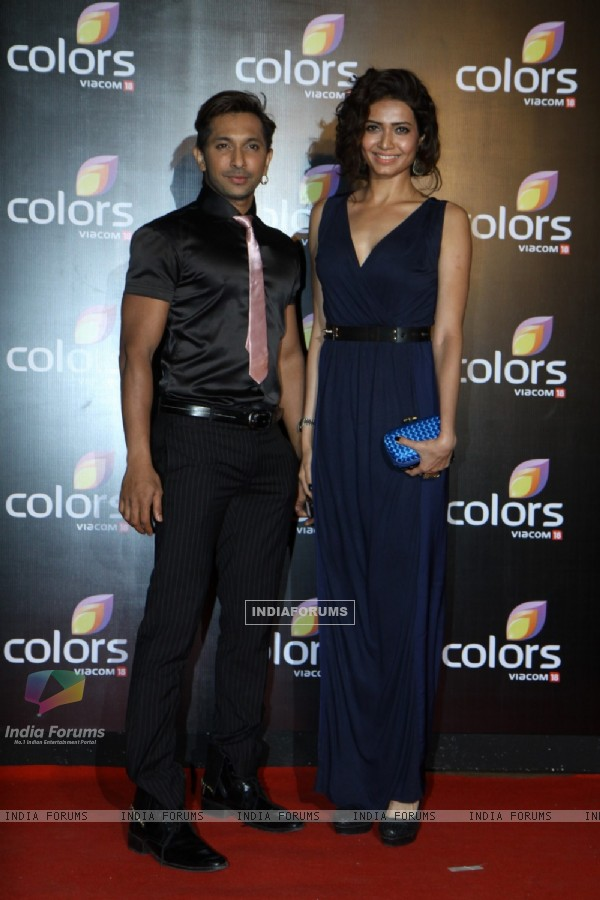 Terence Lewis and Karishma Tanna were at the IAA Awards and COLORS Channel party