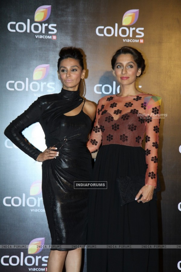 Shibani and Anusha Dandekar were at the IAA Awards and COLORS Channel party