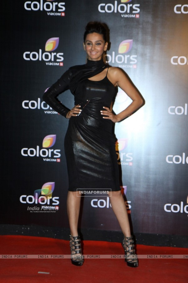 Shibani Dandekar was at the IAA Awards and COLORS Channel party