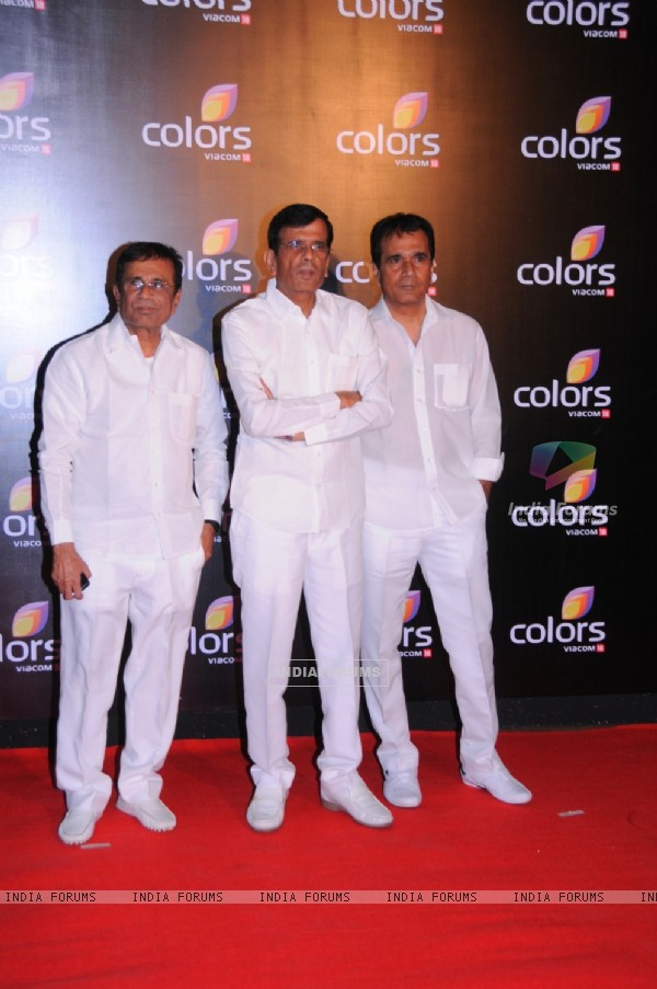 The Burmawala brothers at the IAA Awards and COLORS Channel party