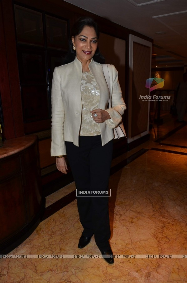 Simi Garewal was at the nominations for Indian Film Festival of Melbourne Awards
