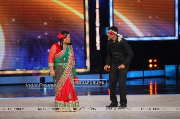 Bharti performs at the Grand Finale of India's Got Talent