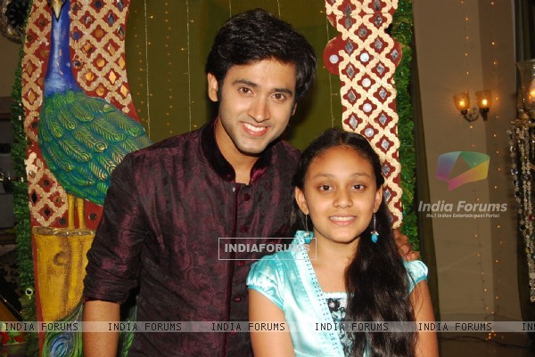 Mishkat Varma with Rajan Shahi's daughter