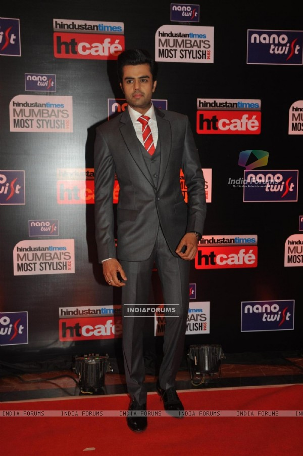 Manish Paul at the HT Mumbai's Most Stylish Awards